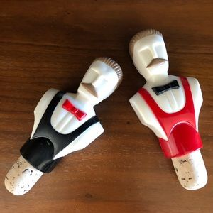 RARE Vintage Bartender Bottle Stopper Set of 2